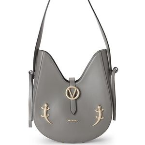 NEW Valentino leather Anny Lizard shoulder bag